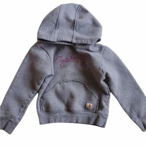 4/$25 Carhartt horseshoe pullover sweatshirt sz 6